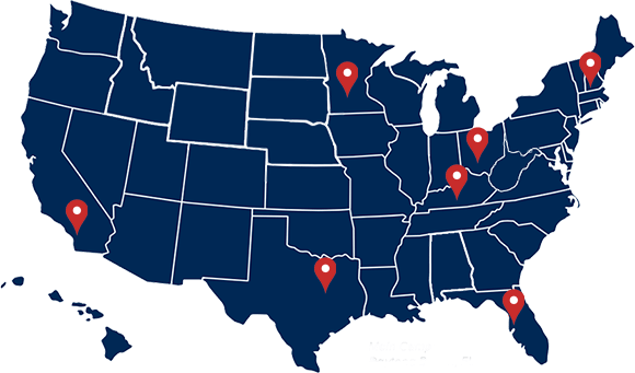 Locations United States Map